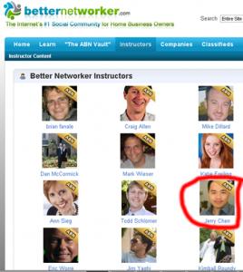 Better Networker instructors