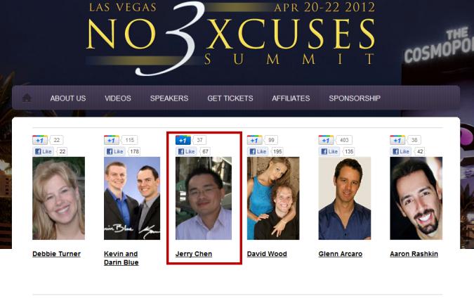No Excuses Summit 3 nomination