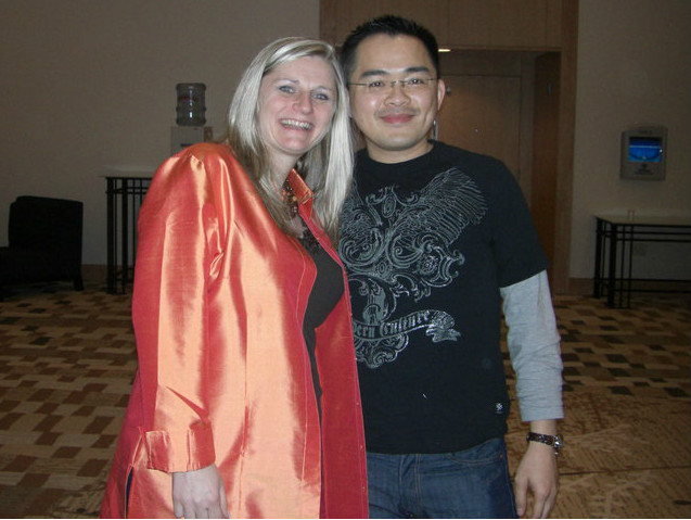 Diane Hochman and Jerry Chen
