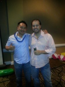 Jerry (me) and Matt Trainer at the secret meeting. My SEO agency has produced over 10,000 page-one rankings on Google for very competitive keywords since 2008.